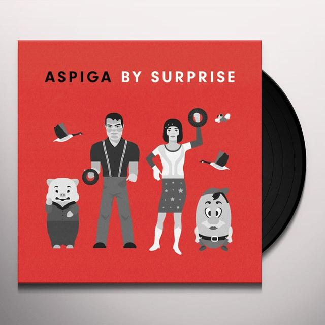 ASPIGA / BY SURPRISE Vinyl Record