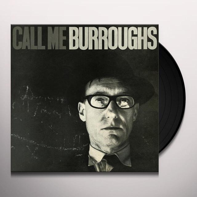 William Burroughs CALL ME BURROUGHS Vinyl Record