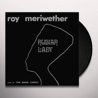 Roy Meriwether NUBIAN LADY Vinyl Record - Reissue