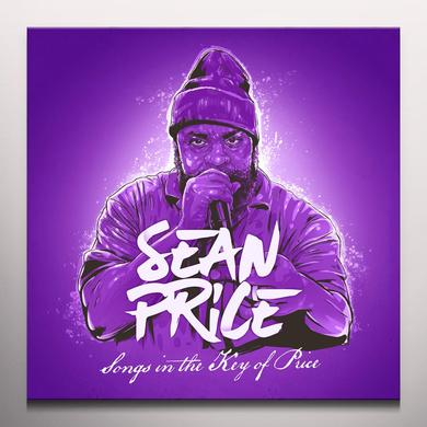 Sean Price SONGS IN THE KEY OF PRICE Vinyl Record - Purple Vinyl