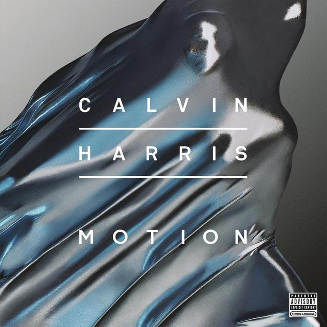 Calvin Harris MOTION Vinyl Record - Italy Import