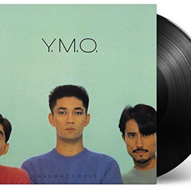 Yellow Magic Orchestra NAUGHTY BOYS & INSTRUMENTAL Vinyl Record