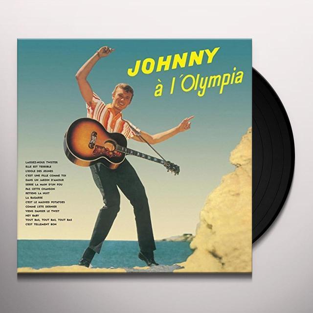 Johnny Hallyday L'OLYMPIA Vinyl Record