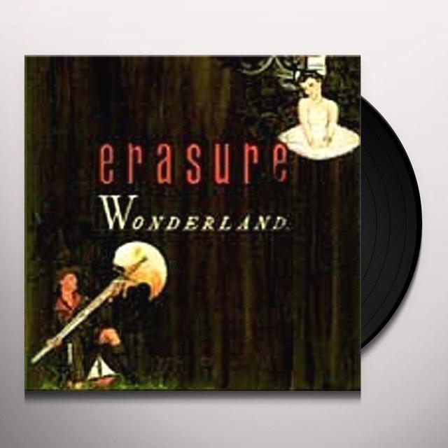 Erasure WONDERLAND Vinyl Record