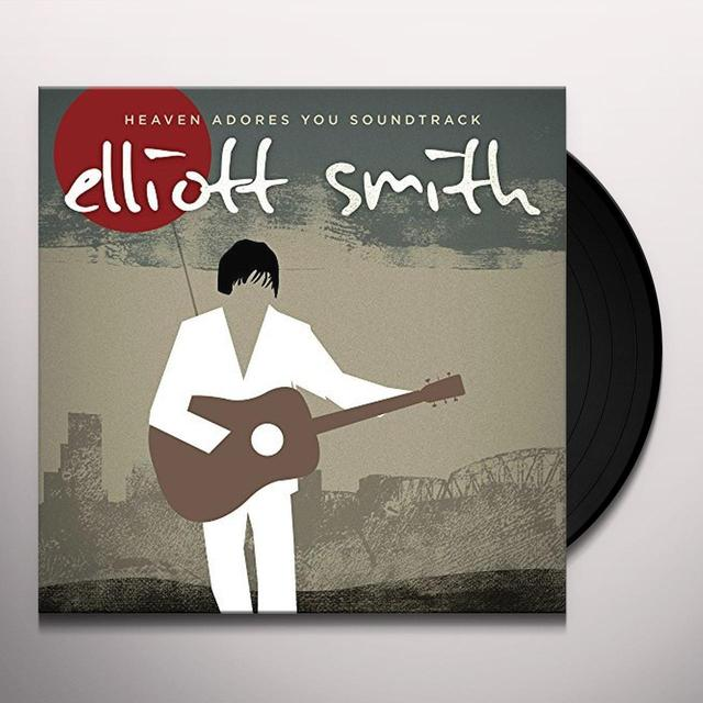 Elliott Smith HEAVEN ADORES YOU SOUNDTRACK Vinyl Record