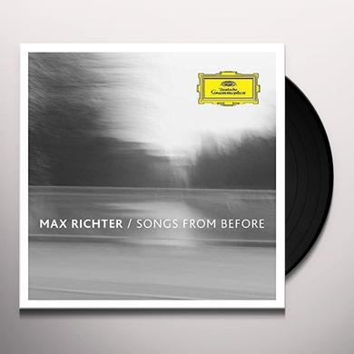 Max Richter SONGS FROM BEFORE Vinyl Record