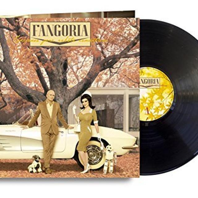 Fangoria CANCIONES PARA ROBOTS ROMANTICOS Vinyl Record