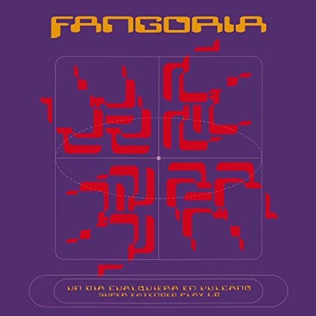 Fangoria UN DIA CUALQUIERA EN VULCANO 1.0 Vinyl Record - 10 Inch Single, Spain Import