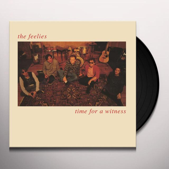 The Feelies TIME FOR A WITNESS Vinyl Record - Digital Download Included