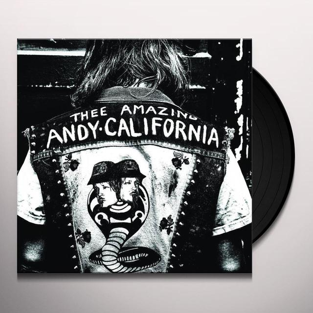 Andy California MY DYING BED Vinyl Record