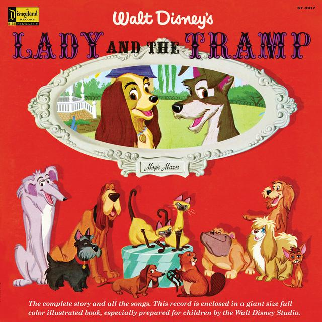 MAGIC MIRROR: LADY & THE TRAMP / O.S.T. Vinyl Record