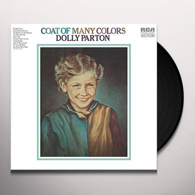 Dolly Parton COAT OF MANY COLORS Vinyl Record - 180 Gram Pressing, Holland Import