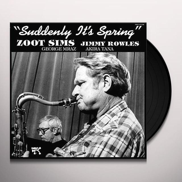 Zoot Sims SUDDENLY IT'S SPRING Vinyl Record