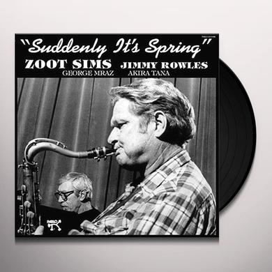Zoot Sims SUDDENLY IT'S SPRING Vinyl Record - 180 Gram Pressing, Spain Import