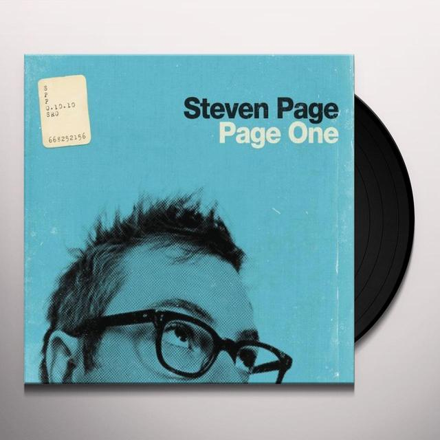 Steven Page PAGE ONE (LP) Vinyl Record - Canada Import