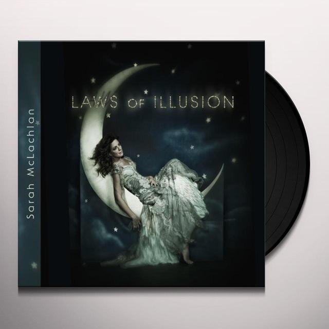 Sarah Mclachlan LAWS OF (VINYL 12) ILLUSION (LP) Vinyl Record - Canada Import