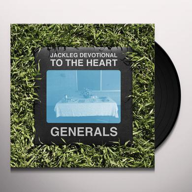 Baptist Generals JACKLEG DEVOTIONAL TO THE HEART (LP) Vinyl Record