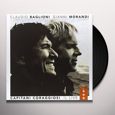 Claudio Baglioni & Gianni Morandi CAPITANI CORAGGIOSI: IL LIVE Vinyl Record