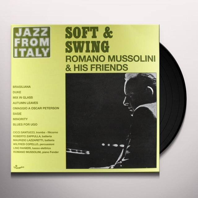 Romano Mussolini SOFT & SWING Vinyl Record