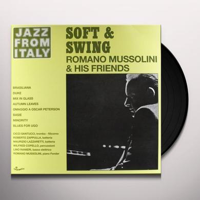 Romano Mussolini SOFT & SWING Vinyl Record - Italy Import