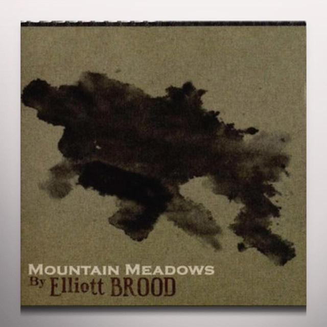 Elliott Brood MOUNTAIN MEADOWS  (WSV) Vinyl Record - Green Vinyl, Digital Download Included