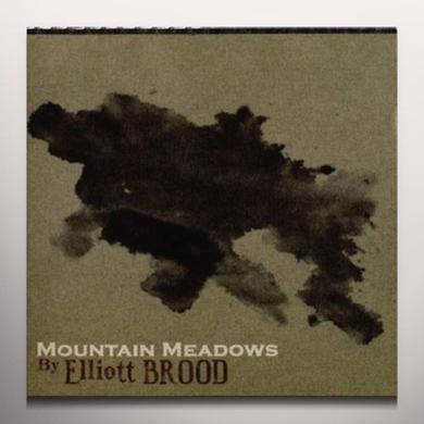 Elliott Brood MOUNTAIN MEADOWS  (WSV) Vinyl Record - Green Vinyl, Digital Download Included