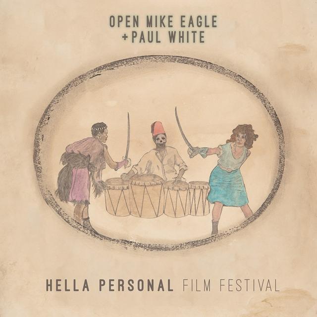 Open Mike Eagle / Paul White HELLA PERSONAL FILM FESTIVAL Vinyl Record