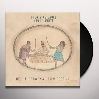 Open Mike Eagle / Paul White HELLA PERSONAL FILM FESTIVAL Vinyl Record