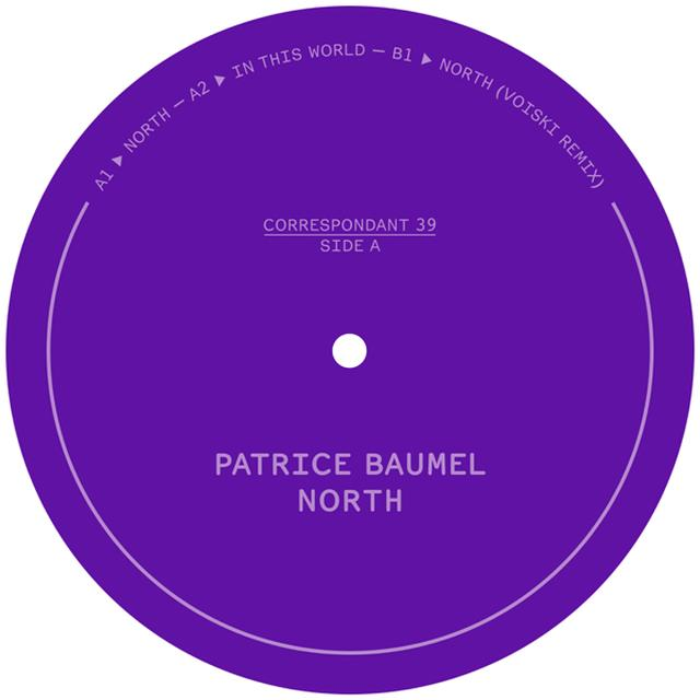 Patrice Bäumel NORTH Vinyl Record