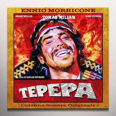 Ennio Morricone TEPEPA / O.S.T. Vinyl Record - Limited Edition, 180 Gram Pressing, Orange Vinyl