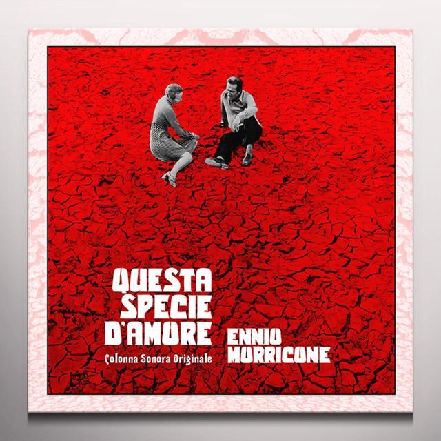 Ennio Morricone QUESTA SPECIE D'AMORE / O.S.T. Vinyl Record - Blue Vinyl, Limited Edition, 180 Gram Pressing