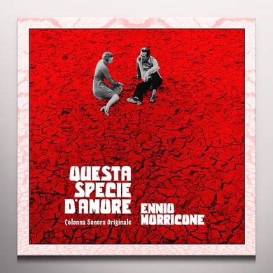 Ennio Morricone QUESTA SPECIE D'AMORE / O.S.T. Vinyl Record - Blue Vinyl, Limited Edition, 180 Gram Pressing