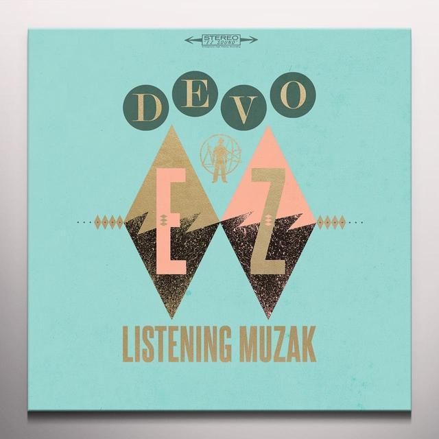 Devo EZ LISTENING MUZAK (ANTIQUE WALNUT) Vinyl Record - Colored Vinyl