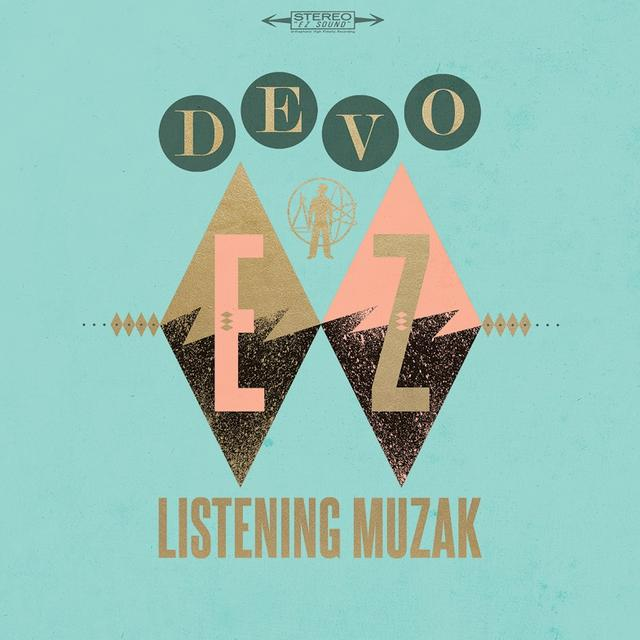 Devo EZ LISTENING MUZAK (ANTIQUE WALNUT) Vinyl Record - Colored Vinyl