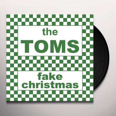 Toms FAKE CHRISTMAS Vinyl Record - Black Vinyl, Limited Edition, Deluxe Edition