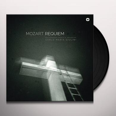 Mozart / Carlo Maria Giulini REQUIEM Vinyl Record