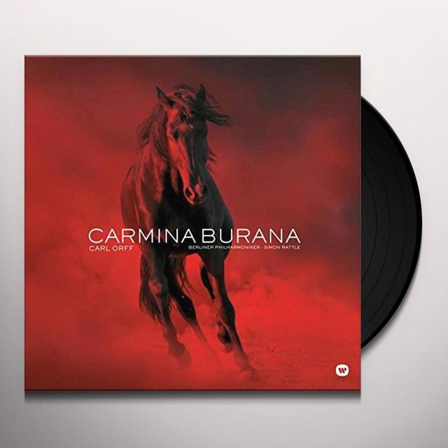 Orff / Simon Rattle CARMINA BURANA Vinyl Record