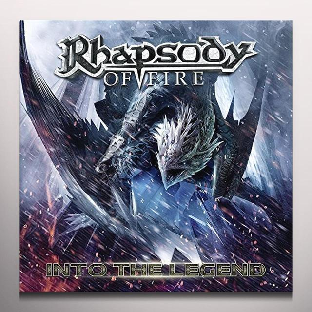 Rhapsody Of Fire INTO THE LEGEND Vinyl Record