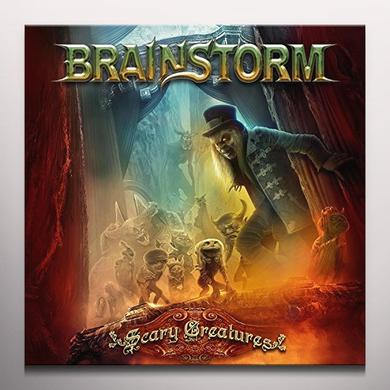 Brainstorm SCARY CREATURES Vinyl Record - Colored Vinyl, Gatefold Sleeve, Gold Vinyl, Limited Edition, 180 Gram Pressing