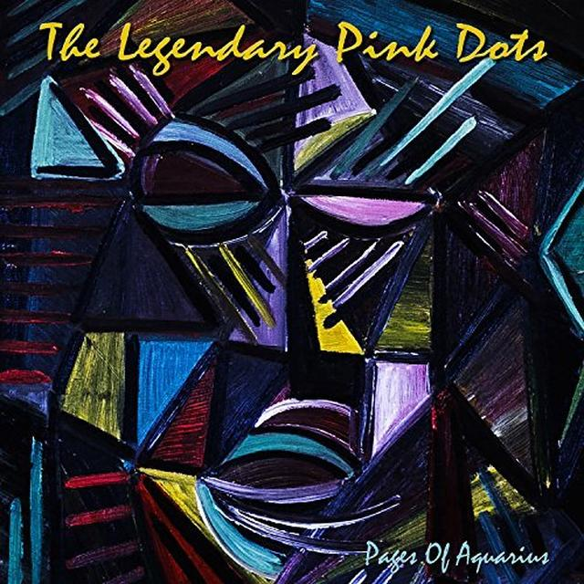 The Legendary Pink Dots PAGES OF AQUARIUS Vinyl Record - Limited Edition