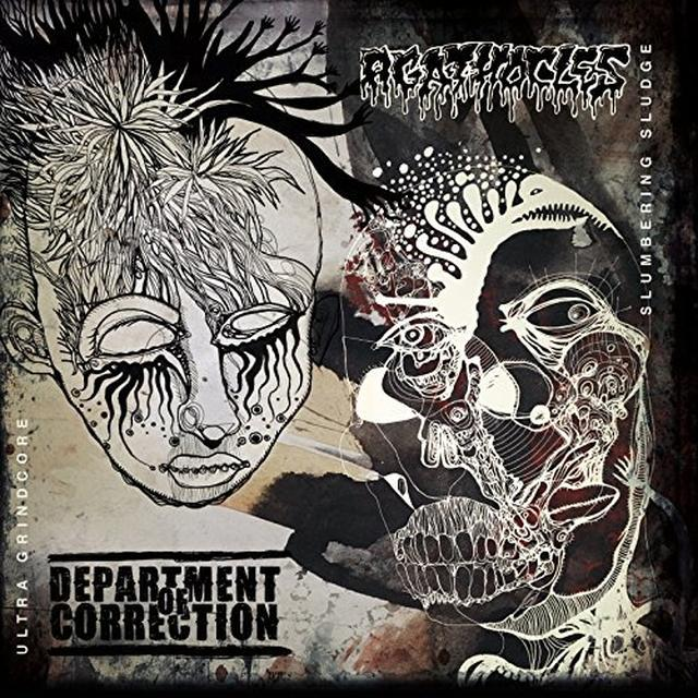 DEPARTMENT OF CORRECTION / AGATHOCLES SPLIT Vinyl Record