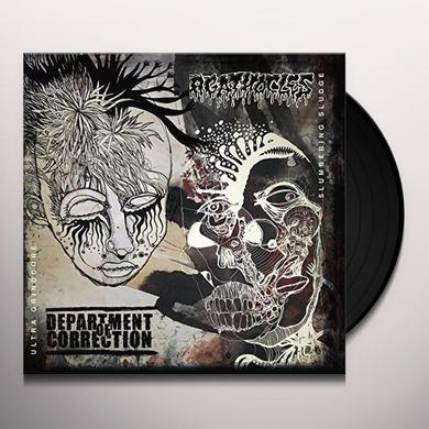 DEPARTMENT OF CORRECTION / AGATHOCLES SPLIT Vinyl Record