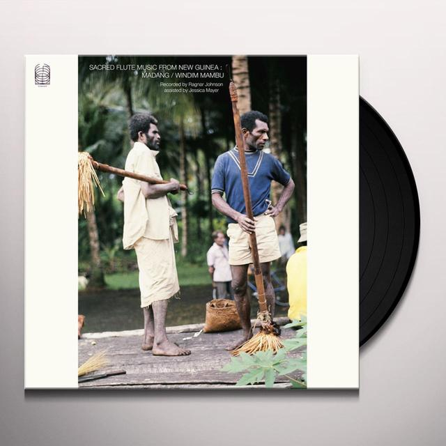 Ragnar Johnson SACRED FLUTE MUSIC FROM NEW GUINEA: MADANG / WIND Vinyl Record