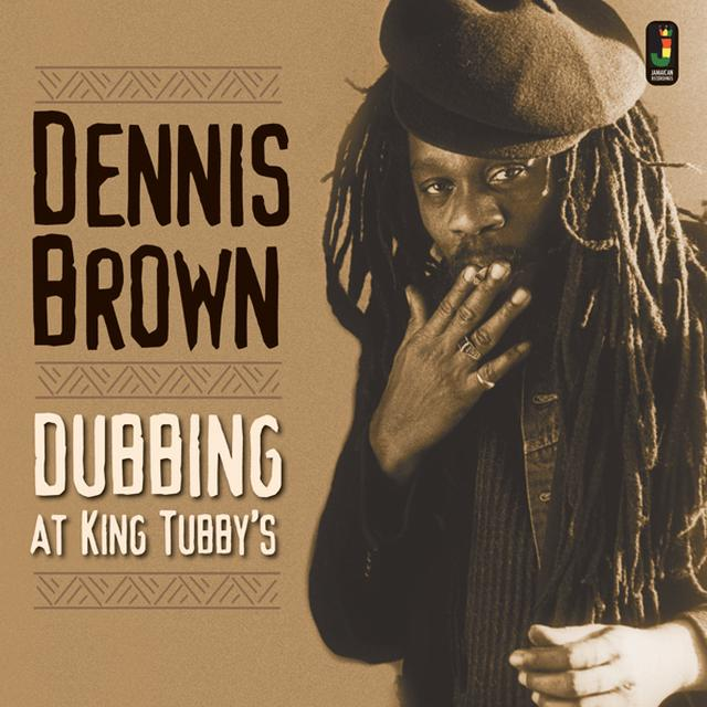 Dennis Brown DUBBING AT KING TUBBY'S Vinyl Record