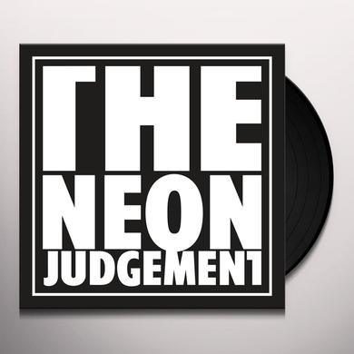 The Neon Judgement TV TREATED (DAVE CLARKE REMIX/RADIO EDIT) Vinyl Record