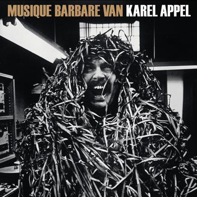 Karel Appel MUSIQUE BARBARE Vinyl Record