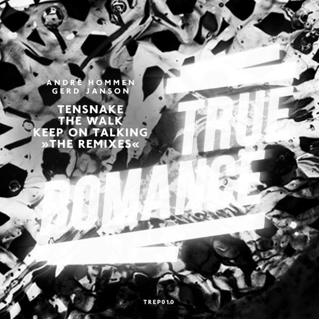 Tensnake WALK / KEEP ON TALKING REMIXES Vinyl Record - Remixes