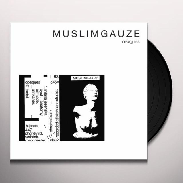 Muslimgauze OPAQUES Vinyl Record - Limited Edition