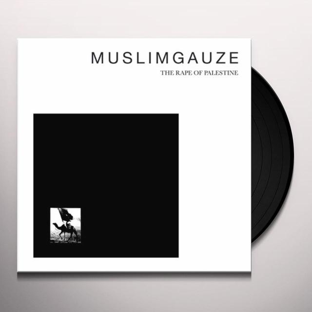 Muslimgauze RAPE OF PALESTINE Vinyl Record - Limited Edition