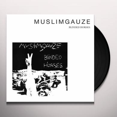 Muslimgauze BLINDED HORSES Vinyl Record - Limited Edition